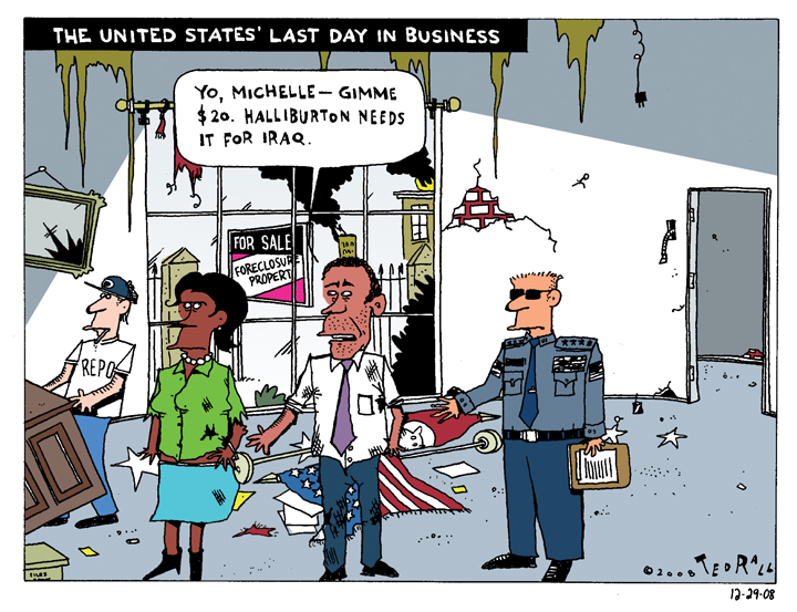 The United States' Last Day in Business